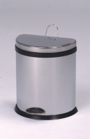 20L Semi-Round Step-Open Trash Can