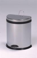 20L Semi-Round Step-Open Trash Can