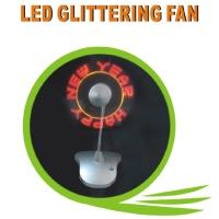 LED Glittering Fan