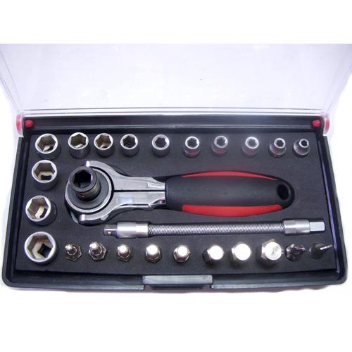 """1/4"""" DR. Socket&Hex Bit Set"""