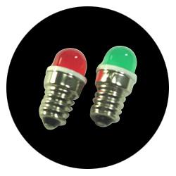 T12 E12 LED Indicator Lamp