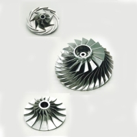 CNC 5 axis machining Impeller