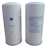 Disposable oil separator filter