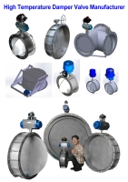 High Temperature Damper Valve Manufacturer