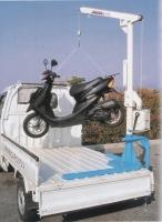 四輪卡車用起重機