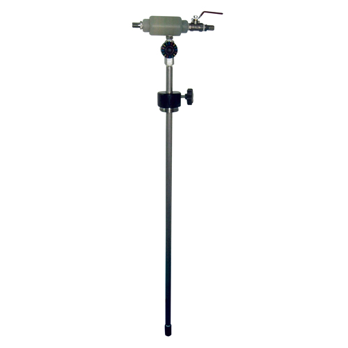 Auto-pumping Fluid Mixer
