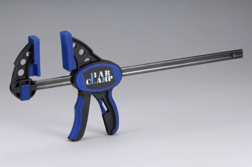 Dual Color Quick Release Bar Clamp/Spreader