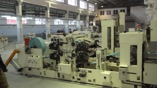 Automatic Napkin Printing Machine