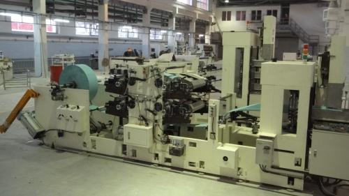 Color Napkin Tissue Machine