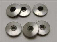橡胶黏铁(白铁、铝)华司