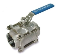 ZT-301  Three peice Screw Body ball valves