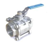 ZT-302 Three peice Screw Body ball valve