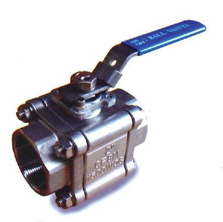 ZT-303 Three piece Ball Valve