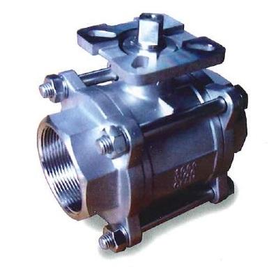 ZT-306Three peice  ball valve