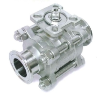 ZT-306TCThree peice  ball valve