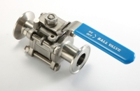 Sanitary Clamp End Ball Valves