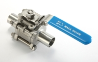 Sanitary Butt Weld End Ball Valves