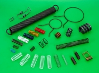 Shock-absorbing Springs