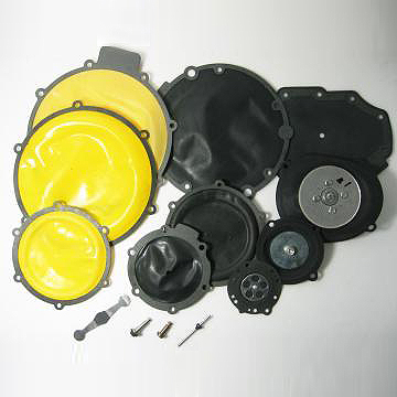 Fabric Reinforced Rubber Diaphragms