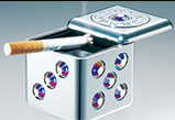 Ashtray & Cigarette lighter