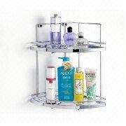 2-shelf Corner Rack