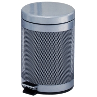 Trash Can W/Step-Open Lid