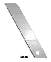 有折线齿状美工刀片