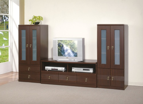 TV Stands and Stereo Racks, Wooden Cabinets, K/D Cabinets