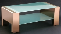 Cens.com 不锈钢客厅桌,边桌,咖啡桌,玻璃桌 铁金钢金属工业有限公司