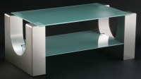 Stainless Steel Living Room Table/Metal Tables/Glass Tables/Occasional Tables/Coffee Tables