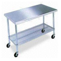 Stainless Steel Working Table/Kitchen Trolley