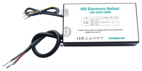100W HID ballast 氙气灯电子镇流器