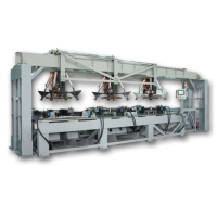 Automatic contiuous top & bottom fan-guard shaper for central A/C system