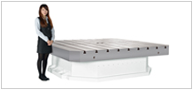 Large Size Horizontal CNC Rotary Table(Axial-Radial Roller Bearing Series)