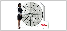 Large Size CNC Rotary Table
