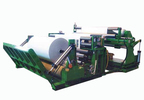 Paper Slitting & Rewinding Machine