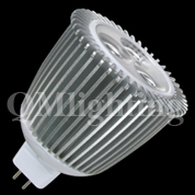led lighting mr16 3X2W-2