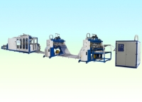 Digital operate continuous Air-Pressure / Vacuum Forming Mchine