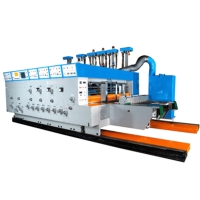自动水性印刷开槽机
