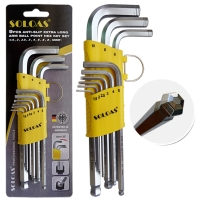 Hex Wrench (Mid-Length Model, W/Anti-Slip Ball)