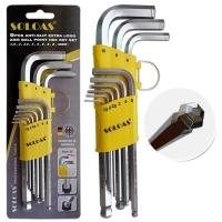 Hex Wrench (Mid-Length Model, W/Anti-Slip Ball)