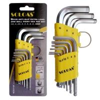 Hex Wrench (Short Model, W/Anti-Slip Ball)
