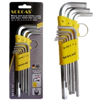 Hex Wrench (Mid-Length, Dual-Anti-Slip Safety Model)