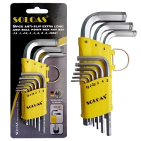 Hex Wrench (Short Model, Dual-Anti-Slip Safety Model)