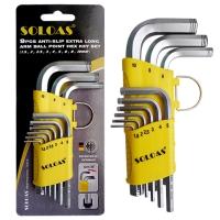 Hex Wrench (Short Model, Dual-Anti-Slip Safety Model)