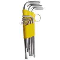 Hex Wrench (Mid-Length, Dual-Anti-Slip Safety Model) (OEM)