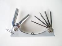 7PCS 摺叠六角型扳手组