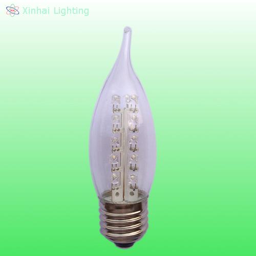 LED C35 Candelabra bulb