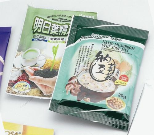 粉末、保丽纸食品包装