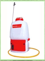 Electric Power Knapsack Plastic Sprayer with Rechargeable Battery